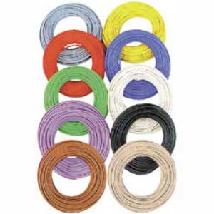 Wire 0.055qmm 10m Black