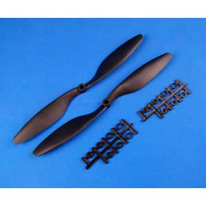 Multicopter Propeller Set 10x4.5 Black