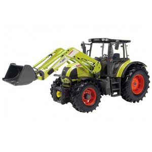 Claas Ares 577 ATZ with front loader (1/32)