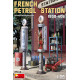 French Petrol Station 1930-40S (1/35)