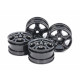 M-Chassis C-Shaped 10-Spoke Wheels (Black) (4Pcs)