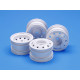 On-Road Racing Truck Wheels (F/R/ 2Pcs Each) (White)
